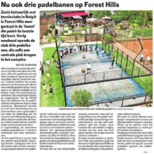 Forest Hills in het nieuws!